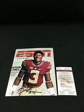 DERWIN JAMES FLORIDA STATE SIGNED ESPN COVER 8X10 PHOTO JSA WITNESS COA WP767703