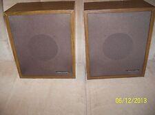 VINTAGE (1970'S) PAIR OF REALISTIC minimus-3 Bookshelf Speakers VG+/EXC w/grills