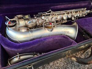 Conn Chu Berry to Naked Lady Transitional Alto Saxophone Art Deco Nice!