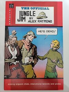 OFFICIAL JUNGLE JIM #1-4 (1988) PIONEER COMICS STORY & ART by ALEX RAYMOND!