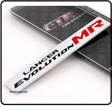 Lancer Evolution Insignia Emblema De Aluminio Cepillado Mitsubishi Evo MIVEC Ralliart 77