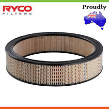 Brand New * Ryco * Air Filter For CHEVROLET CAMARO / CHEVELLE Petrol
