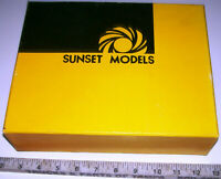 Sunset Models HO PRESTIGE SERIES 2=8=0 Brass Steam Locomotive & Tender with OB