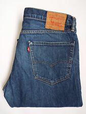 Levis 505 Jeans Hombres Regular Recto W36 L34 azul medio Strauss levh 309 #