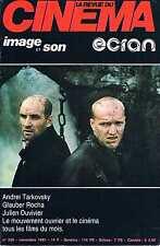 La Revue Du Cinema - N°366 - nov 1981:Tarkovsky Glauber rocha Duvivir Le mouveme