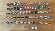 Super Hero Cufflinks Chrome Gold Wedding Marvel DC Poker Gift Top Quality