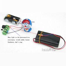 Laser infrarouge interrupteur d'alarme sonore/lumière alarme motion détecteur sécurité diy kits