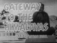 RARE 16mm FILM  TIBET CHINA NEPAL INDIA  HIMALAYAS MOUNTAINS   documentary MOVIE