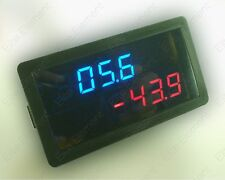 DC Battery Tester Current +/- 500A Voltage 20V Blue+Red Voltage Amp Meter Ampere