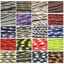 550 Camo Paracord Parachute Cord Lanyard Mil Type III 7 Core Rope 10m 15m 31m