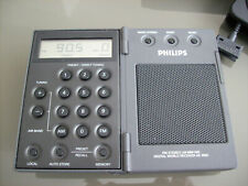 Philips AE 3905/00 Miniature World Receiver w. Antenna and Pouch