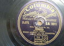 78 rpm WOODY HERMAN ORCH panacea / the good earth