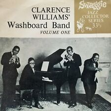 "CLARENCE WILLIAMS' Washboard Band Vol 1 - - Rare 1950's Australian SWAGGIE 7"" EP"