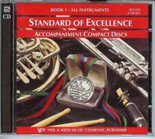 """""""Standard Of Excellence Book 1"""" 2 Cd Set-All Instruments-Sealed-Accomp animent!"""