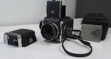 Bronica S with spare S2/S2a Film Back, Case and Slide