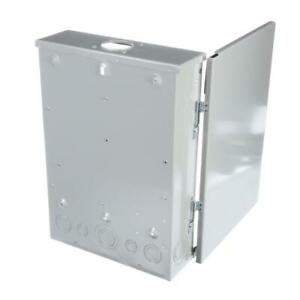 Siemens Neutral Load Center 125-Amp 12-Space 24-Circuit Main Lug Plug-On Outdoor