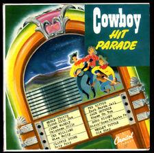 COWBOY HIT PARADE - Capitol Records – EBF-4000 - (2 EP) - Country Music - 1950