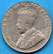 Canada 1926 Far 6 5 Cents Five Cent Nickel Coin - Very Good