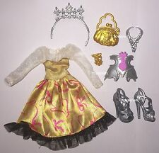 Ever After High Justine Dancer Doll Outfit Clothes Dress & Shoes NEW Character