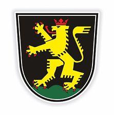 1x pegatina Heidelberg Escudo De Armas Alemania