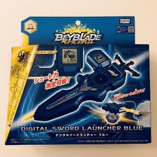 Beyblade Burst B - 93 Digital Sword Launcher Blue USA Seller
