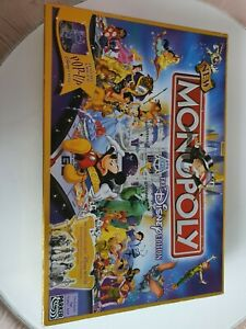 RARE LIMITED EDITION Disney Monopoly 3D Pop Up Castle & Golden Tinkerbell VGC