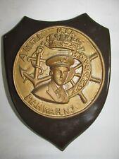 Vintage A.N.M.I. Plaque, Mahwah,New Jersey-Banfi. Association of Italian Sailors