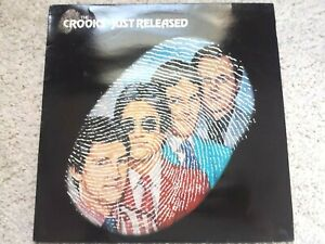 THE CROOKS - JUST RELEASED - (1980) BLUP 5002 - VINYL LP (TESTED EX+)