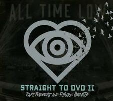 ALL TIME LOW – STRAIGHT TO DVD 2 PAST PRESENT FUTURE HEARTS LTD CD/DVD (NEW)