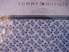 Tommy Hilfiger Blue Fish on White Sheet Set Full