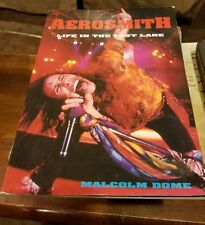AEROSMITH Life In The Fast Lane  rare large paperback book used