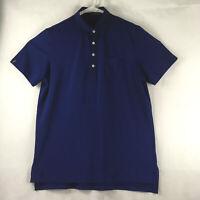 RLX Ralph Lauren Polo Shirt Men's Size Large Vented Button Golf Short Sleeve