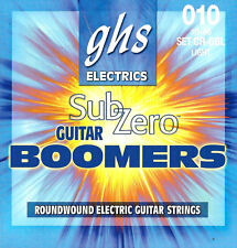 GHS CR-GBL Sub-Zero Boomers electric guitar strings, Light .010-.046