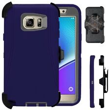 Samsung Galaxy Note 5 Case Cover W/Screen (Belt Clip fits Otter box Defender)