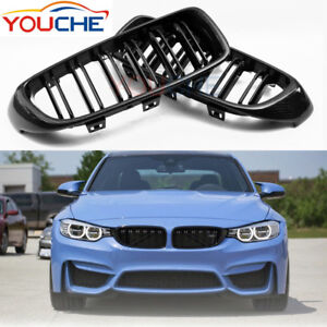 M4 Carbon Fiber Front Kidney Grille Grill for BMW F32 F33 F36 F82 F83 M4 F80 M3