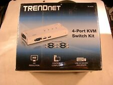 TRENDnet  TK (TK407K) 4-Ports External KVM switch USB