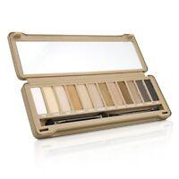 BYS Eyeshadow Palette (12x Eyeshadow, 2x Applicator) - Matte 12g Sets & Coffrets