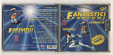 Cd FANTASTICI CARTONI - 2000 Pokemon Dragon Ball Candy Candy Memole Licia