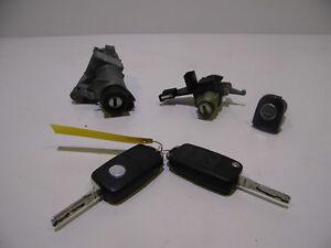VW Polo 9N Schließzylinder Satz Set 2x Schlüssel 6Q0962103
