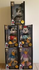 Disney plush character toys Mickey Mouse 90th Anniversary plush set of 5