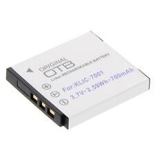 Batería para la KLIC - 7001 dli-21 accu cámara acu batería batería de repuesto KLIC 7001 Li-ion