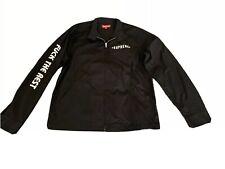 SUPREME X INDEPENDENT Harrington Jacket Large, Black
