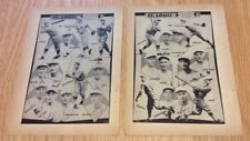 Rare 1930 St Louis Cardinals Team Picture Spauldings Baseball Guide Frank Frisch