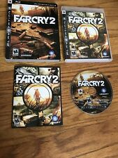 FAR CRY 2 Video Game (Sony PlayStation 3 PS3 2008 Ubisoft) M-Mature
