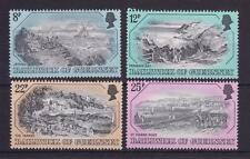 GUERNSEY 1982 OLD GUERNSEY PRINTS VIEWS STAMP SET MNH SG 249-252