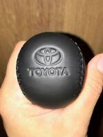 Toyota AutomaticTransmission Shift Knob Fits for Tacoma Black  Pressed Logo