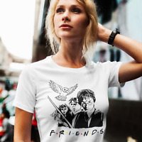 T-Shirt HARRY POTTER FRIENDS Hogwarts |Damen- Herren S-4XL|Frauenshirt |Serie|