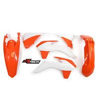 Plastic Kit KTM EXC EXC-F 125 200 250 350 450 14 15 16 Enduro Orange/WT Plastics