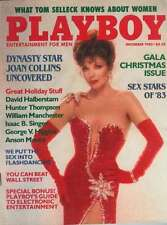 Playboy Dec 83 Joan Collins Issue.  Classic from her best looks.