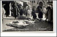 TETUAN Afrika Africa ~1950 Verkauf Markt Einheimische Native People Postcard